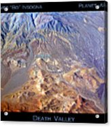 Death Valley Planet Earth Acrylic Print