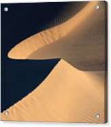 Death Valley Sand Design Acrylic Print