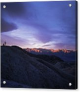 Death Valley Sunrise Acrylic Print