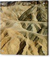 Death Valley Waves Acrylic Print