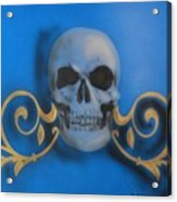 Death With A Flourish Acrylic Print