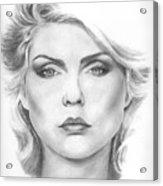 Debbie Harry Acrylic Print
