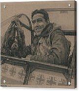 Debden Eagle Acrylic Print