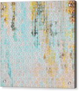 Decadent Urban Light Colored Patterned Abstract Design Acrylic Print