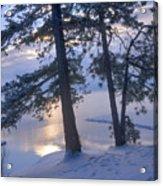 December Dawn Acrylic Print
