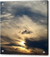 December Sky Acrylic Print