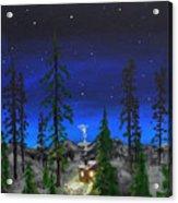 Decembers Star Acrylic Print
