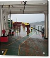 Deck Of A Merchant Vessel Acrylic Print
