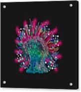 Deco Anemone Acrylic Print