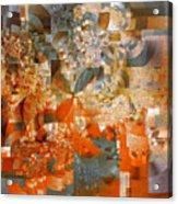 Deco Bubbles Acrylic Print
