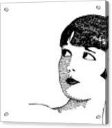 Deco Women Acrylic Print