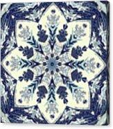 Deconstructed Sea Mandala Acrylic Print