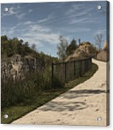 Decorah Bike Trail Acrylic Print