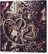 Decorating A Love Nest Acrylic Print