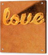 Decorating Love Acrylic Print
