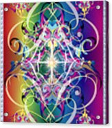Decorative 10 Acrylic Print