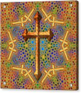 Decorative Cross Acrylic Print