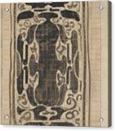 Decorative Design, Carel Adolph Lion Cachet, 1874 - 1945 Acrylic Print