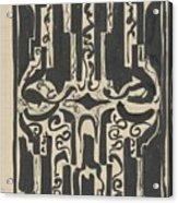 Decorative Design, Carel Adolph Lion Cachet, 1874 - 1945 H Acrylic Print