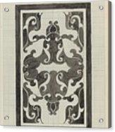 Decorative Design, Carel Adolph Lion Cachet, 1874 - 1945 Jd Acrylic Print