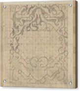 Decorative Design, Carel Adolph Lion Cachet, 1874 - 1945 Sv Acrylic Print