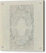 Decorative Design, Carel Adolph Lion Cachet, 1874 - 1945 Te Acrylic Print