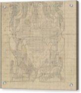 Decorative Design, Carel Adolph Lion Cachet, 1874 - 1945 U Acrylic Print