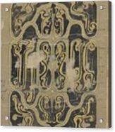Decorative Design, Carel Adolph Lion Cachet, 1874 - 1945 Vq Acrylic Print