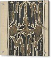 Decorative Design, Carel Adolph Lion Cachet, 1874 - 1945 Y Acrylic Print