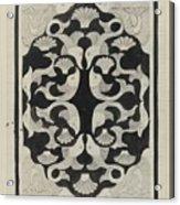 Decorative Design With Fish, Carel Adolph Lion Cachet, 1942 Acrylic Print