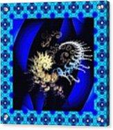 Decorative Fractal Tile 3 Acrylic Print