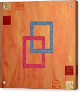 Decorative Squares Acrylic Print