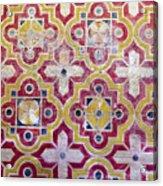 Decorative Tiles Islamic Motif  Acrylic Print