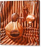Decoy Still Life Acrylic Print