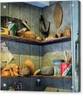 Decoy Workshop Shelves Acrylic Print