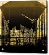Decrepid Barn Acrylic Print