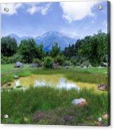 Dedegol Mountain - Turkey Acrylic Print