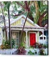 Dee Dee's Cottage Acrylic Print