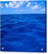 Deep Blue Ocean Acrylic Print