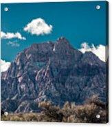 Deep Blue Sky Canyon Acrylic Print