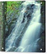 Deep Creek Falls Smoky Mountains Acrylic Print