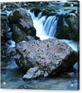 Deep Creek Flowing Between The Rocks Acrylic Print