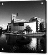 Deep Cutting Junction Old Turn Junction Of Birmingham Canal Navigations Main Line And Newhall Branch Acrylic Print