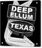 Deep Ellum Texas Acrylic Print