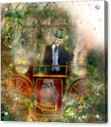 Deep In The Woods - Is The Fairyloon Man Acrylic Print