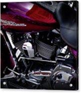 Deep Red Harley Acrylic Print