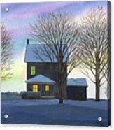 Deep Snow 2003 Acrylic Print