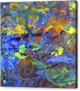 Deep Space Abstract Art Acrylic Print