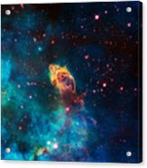 Deep Space Smoke Acrylic Print