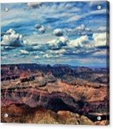 Deep Tones Grand Canyon  Acrylic Print